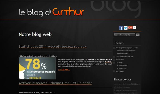 Arthur Com : blog