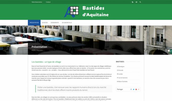 Bastides d'Aquitaine : présentation des bastides d'Aquitaine