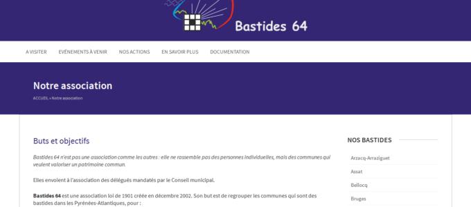 Bastides64 : page A propos