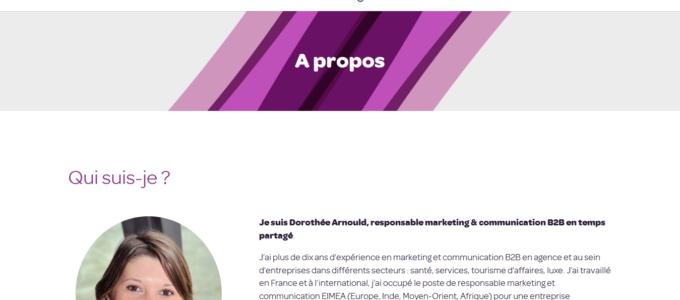Dorothée Arnould : à propos