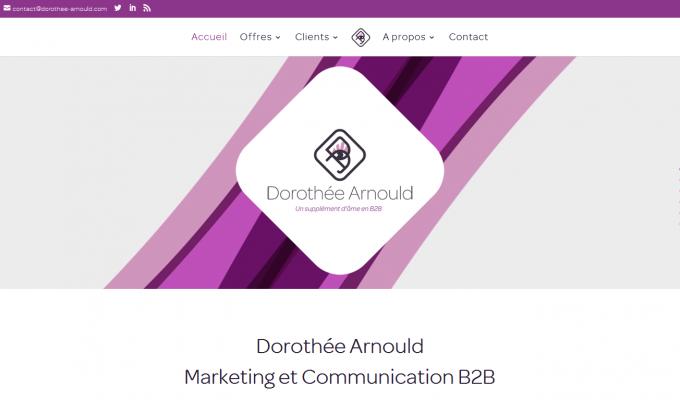 Dorothée Arnould : accueil