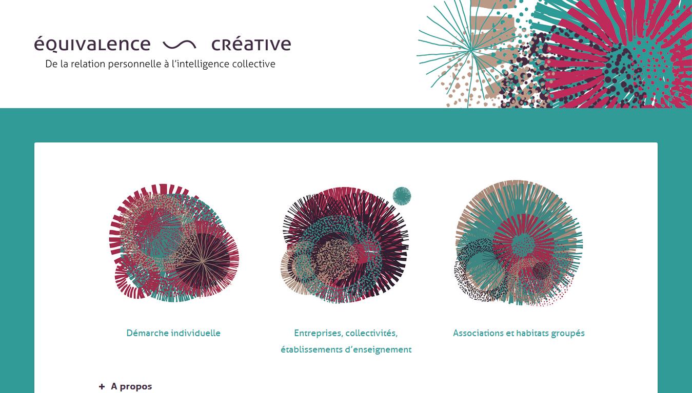 Équivalence ~ Créative : accueil