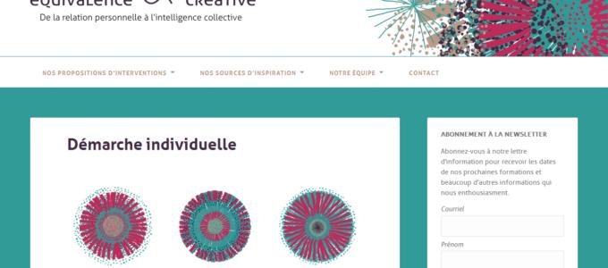 Équivalence ~ Créative : proposition d'intervention