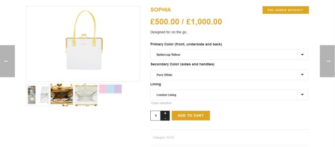 E-commerce Isabella Queen : article
