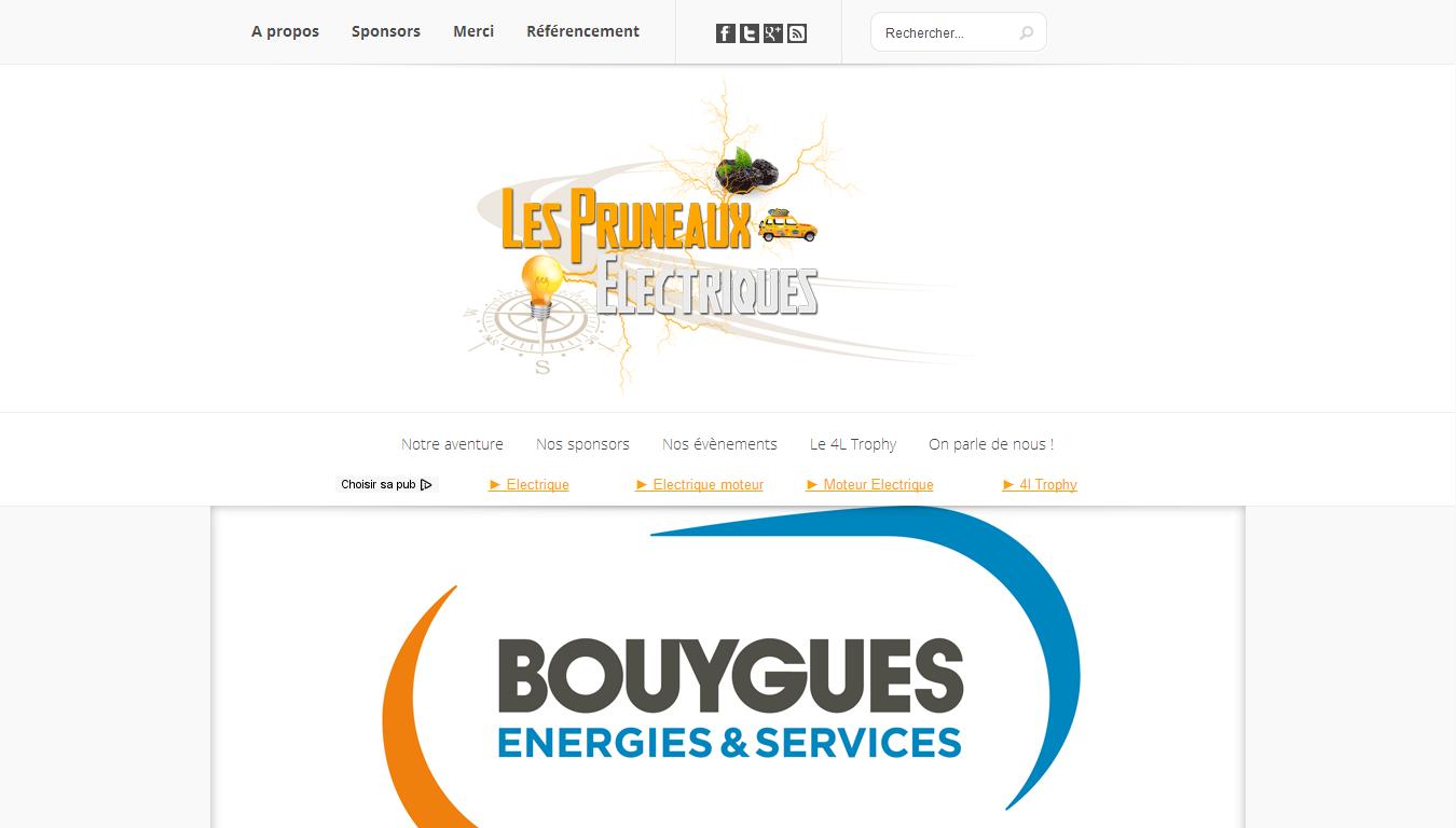 Les Pruneaux Électriques : accueil