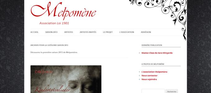 Melpomène : archive