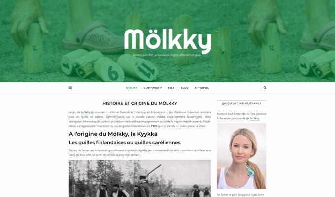 Mölkky : histoire du jeu de quilles finlandaises