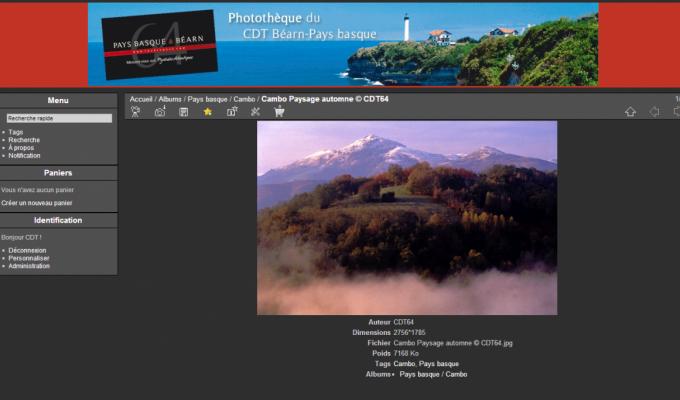 Photothèque du CDT Béarn Pays Basque : photo