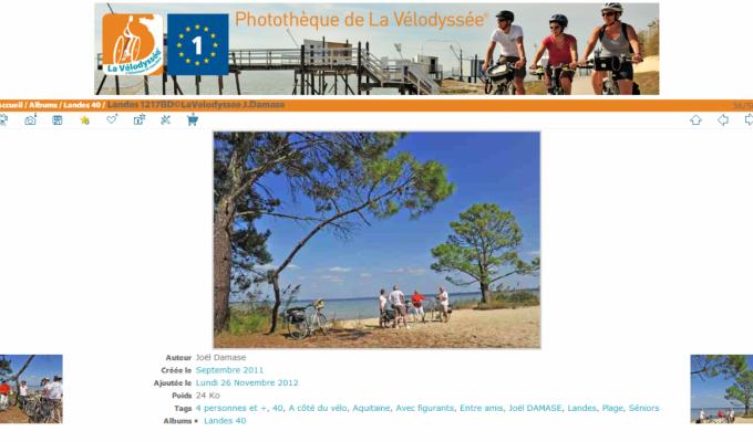 Photothèque de La Vélodyssée® : photo