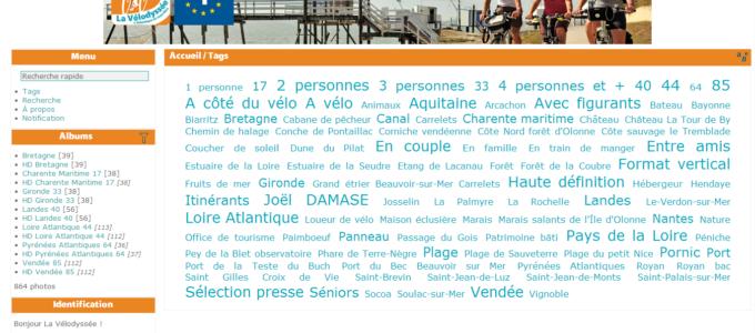 Photothèque de La Vélodyssée® : tags