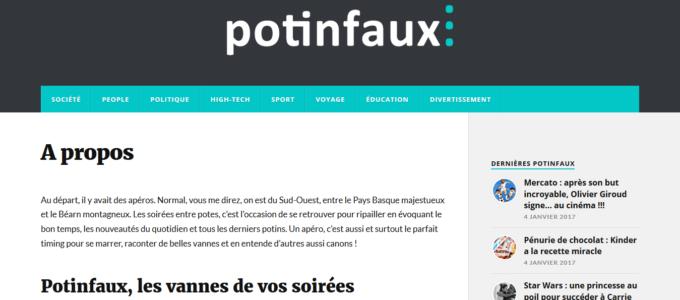 Potinfaux.org : page