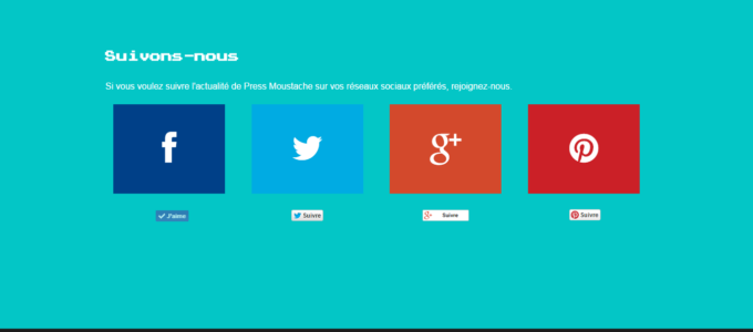 Press Moustache : footer