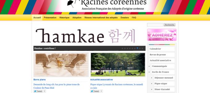 Racines Coréennes : accueil