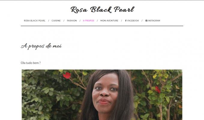 Rosa Black Pearl : à propos