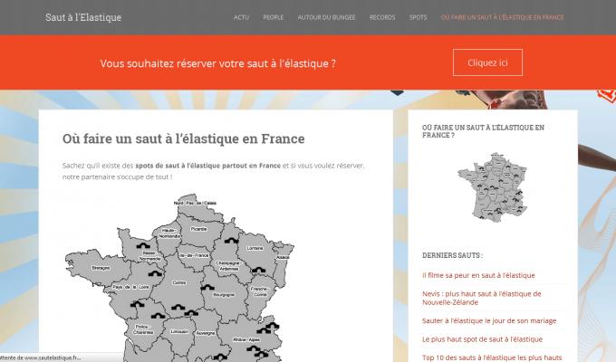 SautElastique.fr : carte