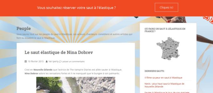 SautElastique.fr : catégorie