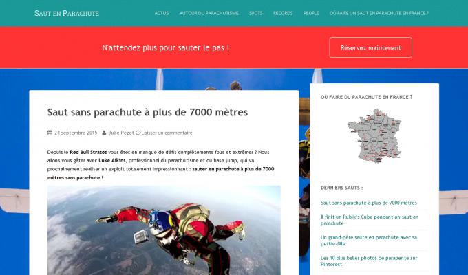 SautParachute.com : accueil