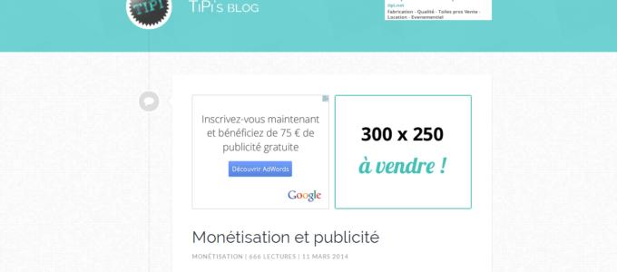 TiPi's blog V6 : accueil