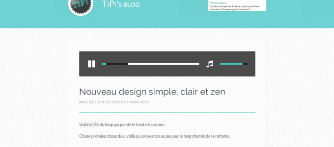 TiPi's blog V6 : article