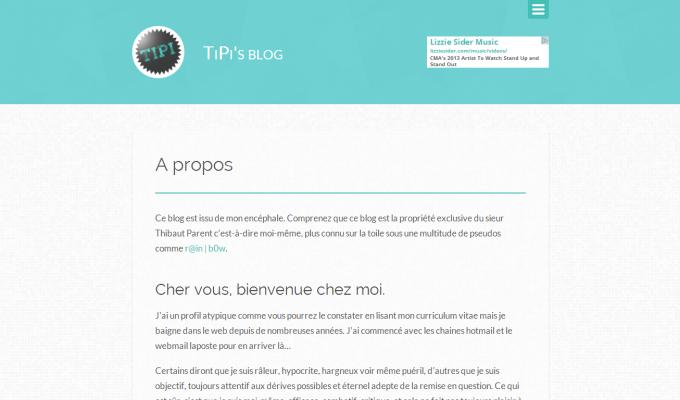 TiPi's blog V6 : page